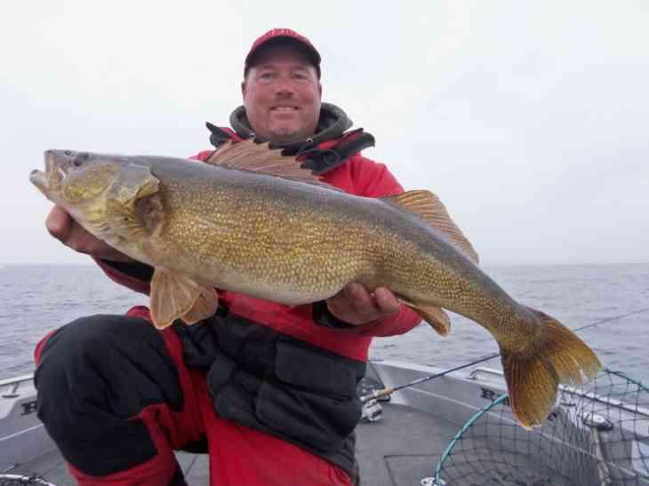 November 22nd Little Bay De Noc Walleye
