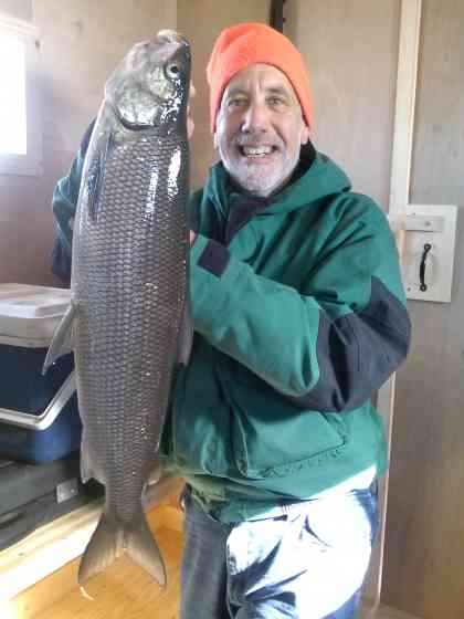 Door County Ice Fishing Green Bay