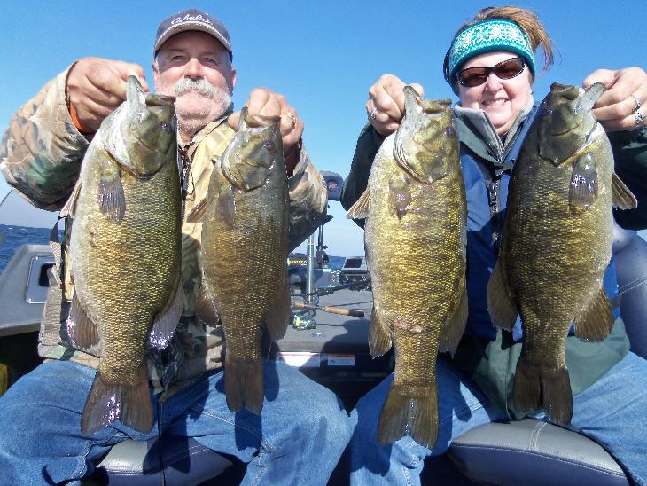 Fall fishing in Door County