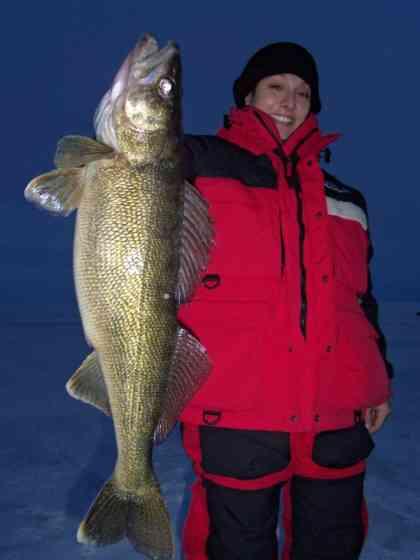 Sturgeon Bay WI Ice Fishing