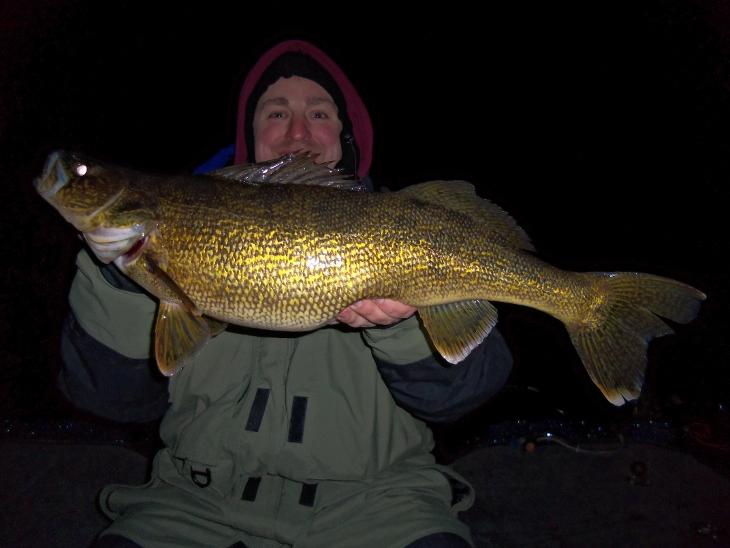 Sturgeon Bay WI Night Fishing