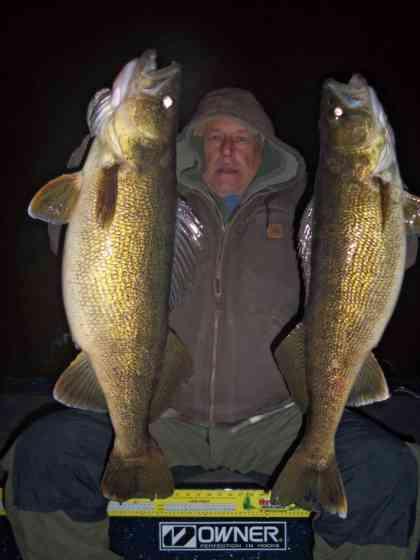 Sturgeon Bay Night Fishing