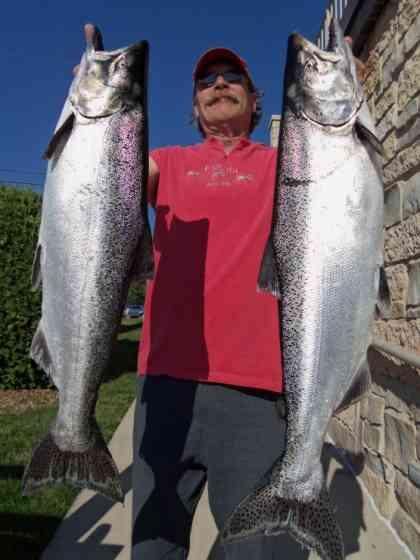 Door County Salmon Fishing