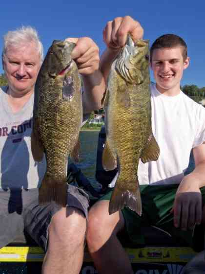 Northern Door Bass Fishing