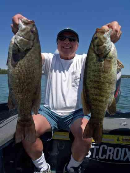 Door County Smallmouth Fishing