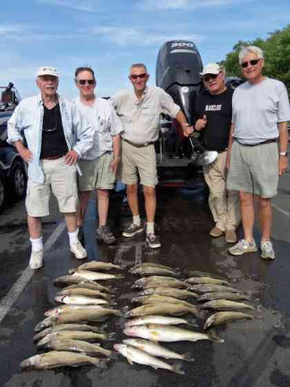 limit of walleyes June 25th