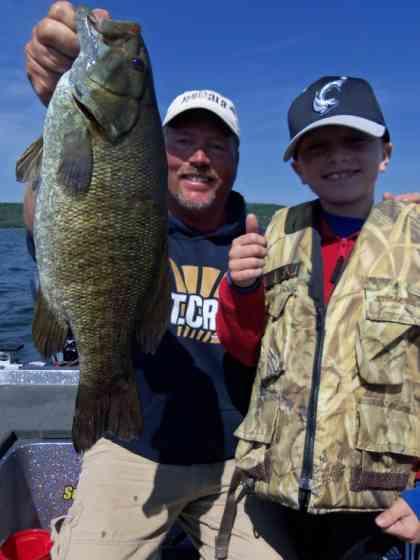 smallmouth bass June 30th
