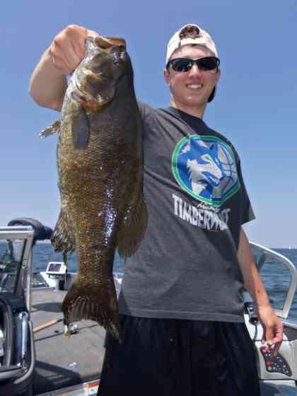 smallmouth bass July 6th