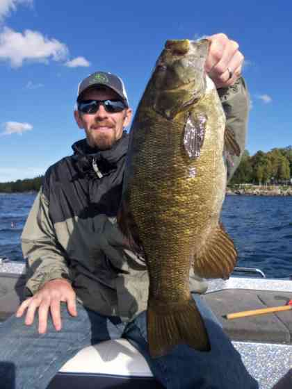 September 25th Smallmouth Bass
