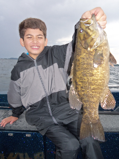 Smallmouth bass in Door County WI