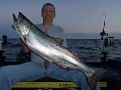 Salmon Fishing Door County WI
