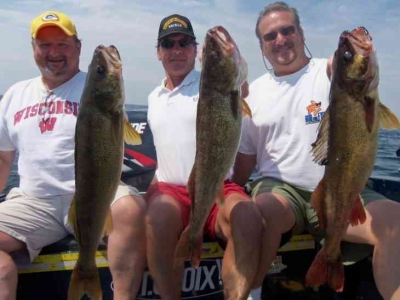 Door County Walleye Fishing
