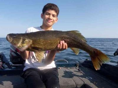 Door County WI Walleye Fishing