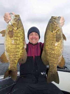 Door County Smallmouth Oct 22nd