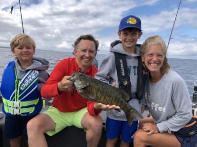 Door County Smallmouth Bass Fishing