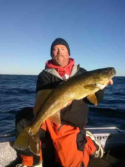 Door County Walleye Fishing Green Bay