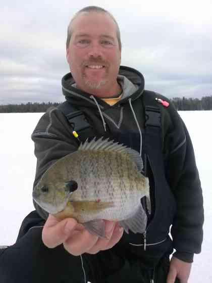 Door County Ice Fishing Fishing Door County
