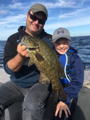 Fishing Door County Smallmouth Bass Fishin