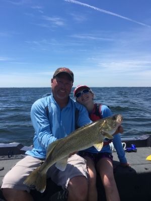 Green Bay Walleye Fishing