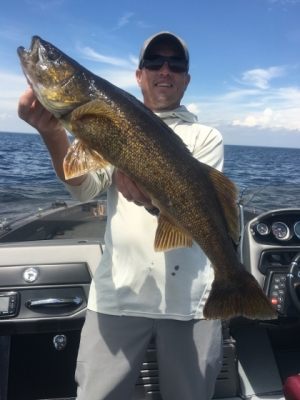 Door County Walleye Fishing