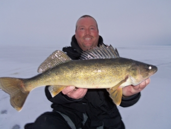 Sturgeon Bay Door County Ice Fishing