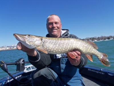 Door County WI Pike Fishing