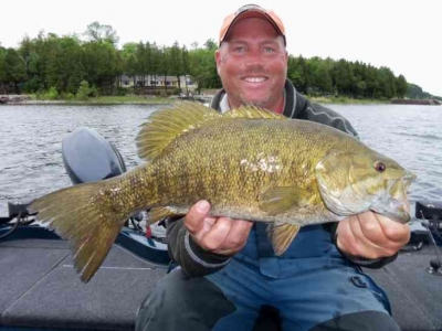 Door County WI Smallmouth Fishing