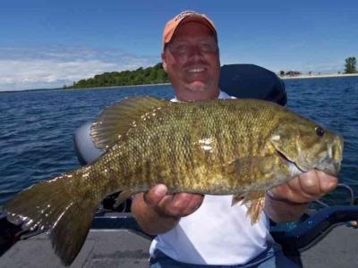 Door County Bass Fishing