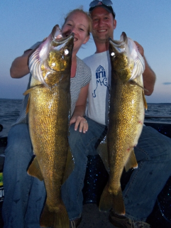 Door County walleyes