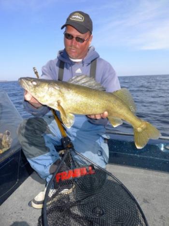 Door County Spring fishing