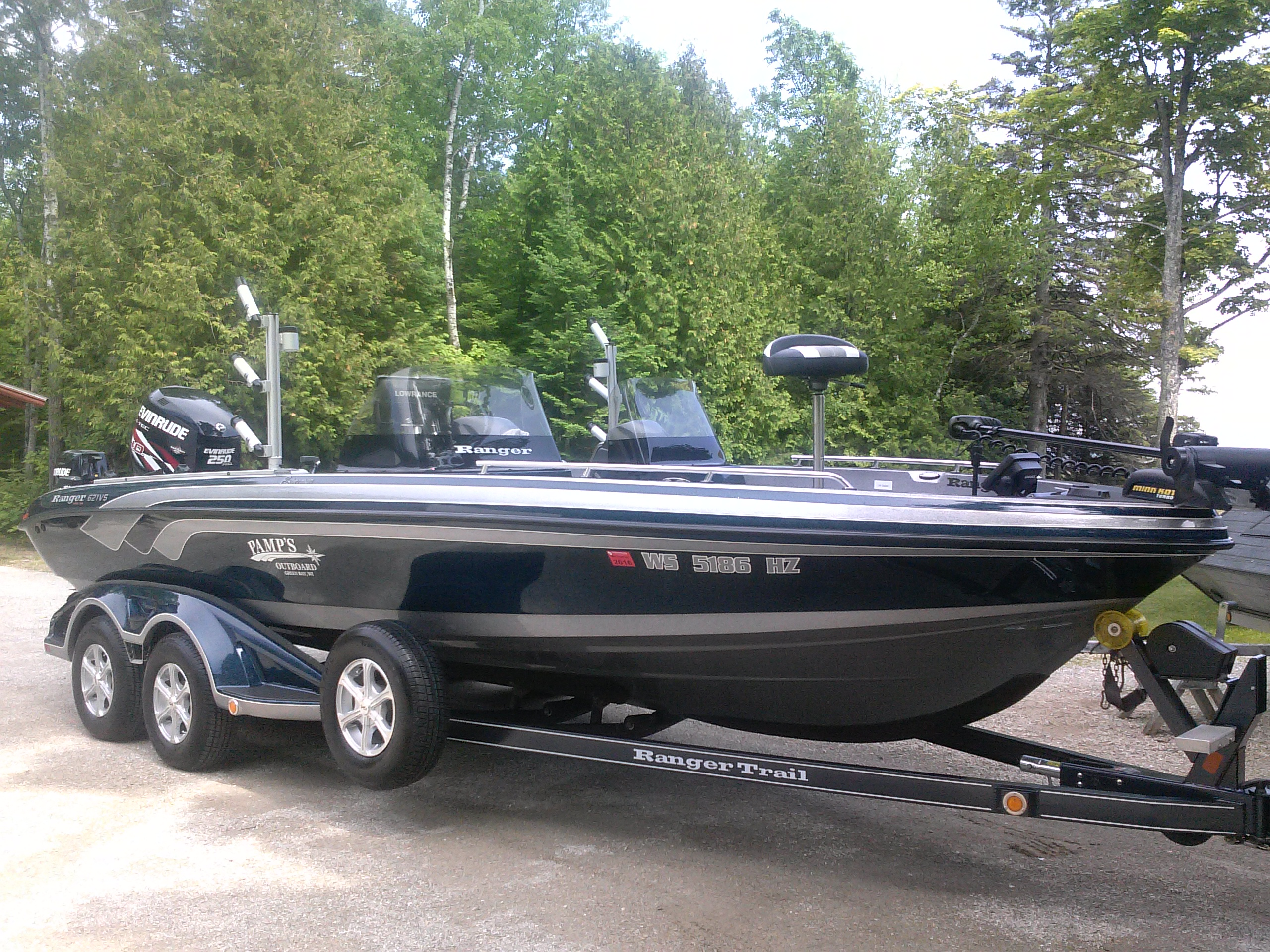 My 2013 Ranger 621 With Evinrude E-Tec Is For Sale At $58,000 00