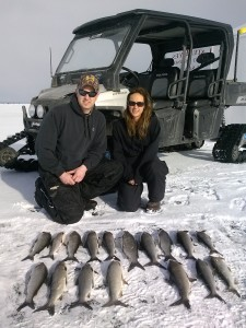 Door County Ice Fishing Green Bay