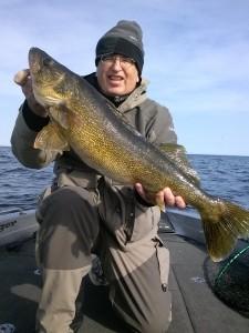 Fishing Door County Walleye Fishing