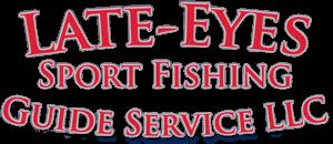 Late Eyes Sport Fishing Logo